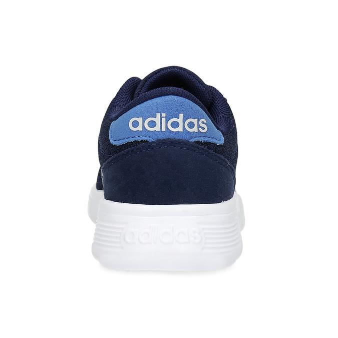 Úpletové modré tenisky chlapčenské adidas, modrá, 309-9209 - 15