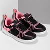 Dievčenské čierno-ružové tenisky bubble-breathe, čierna, 321-6172 - 26