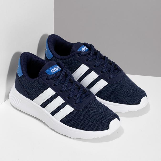 Úpletové modré tenisky chlapčenské adidas, modrá, 309-9209 - 26
