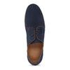 Tmavomodré kožené ležérne poltopánky flexible, modrá, 823-9630 - 17