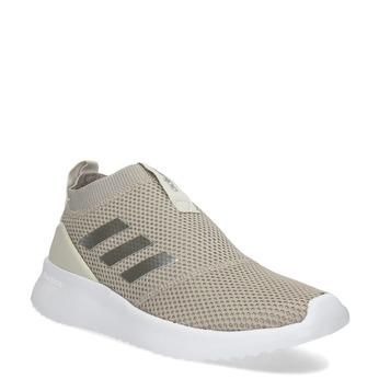 Dámske béžové tenisky s bielou podrážkou adidas, béžová, 509-3129 - 13