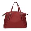 Červená dámska kabelka s perforáciou bata, červená, 961-5888 - 26