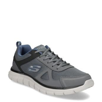 Sivé tenisky pánske skechers, šedá, 809-2234 - 13