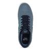 Modré pánske tenisky z brúsenej kože nike, modrá, 803-9106 - 17