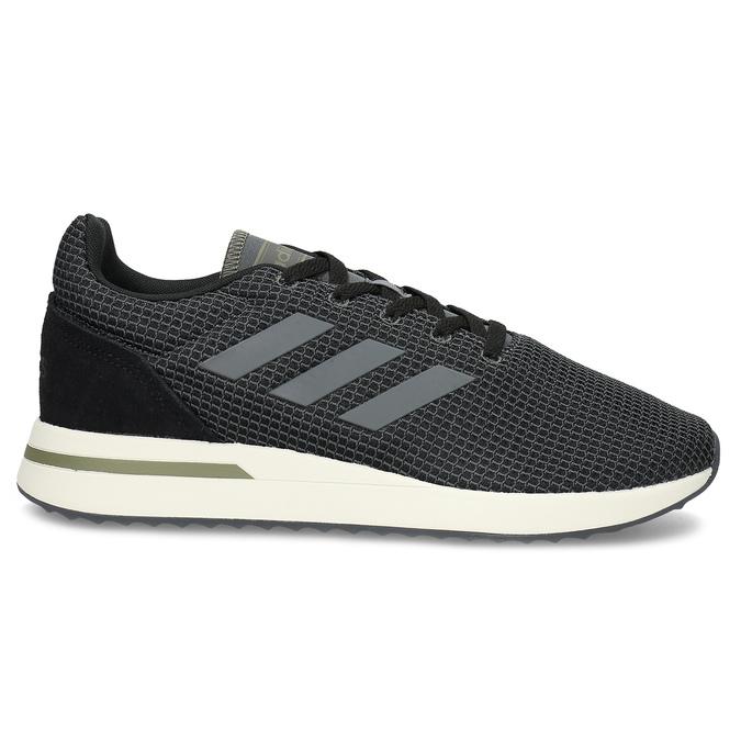 Pánske čierne tenisky všportovom štýle adidas, čierna, 809-6209 - 19