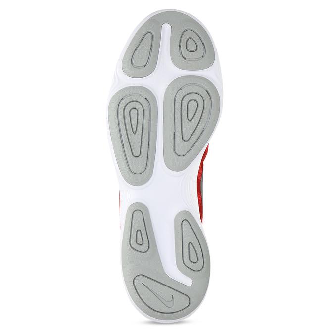 Červené pánske tenisky s bielou podrážkou nike, červená, 809-5100 - 18