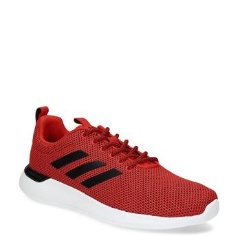 Pánske červené tenisky s čiernymi detailmi adidas, červená, 809-5127 - 13