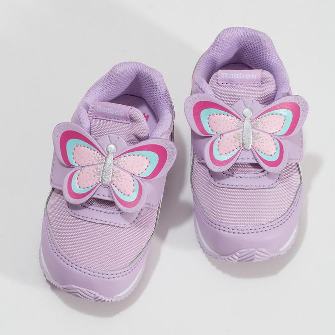 Fialové detské tenisky reebok, fialová, 101-9128 - 16