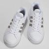 Biele dámske ležérne tenisky adidas, biela, 501-1249 - 16