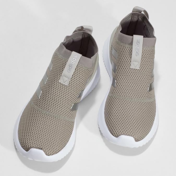 Dámske béžové tenisky s bielou podrážkou adidas, béžová, 509-3129 - 16