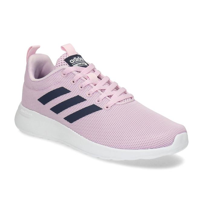Ružové dámske tenisky s bielou podrážkou adidas, ružová, 509-5102 - 13