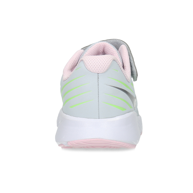 Šedo-ružové športové tenisky nike, šedá, 309-1211 - 15