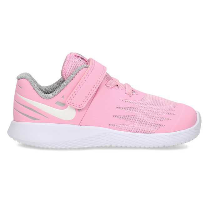 Svetloružové športové detské tenisky nike, ružová, 109-5259 - 19