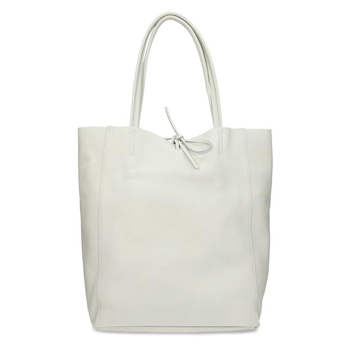 Béžová kožená kabelka bata, béžová, 964-1162 - 26
