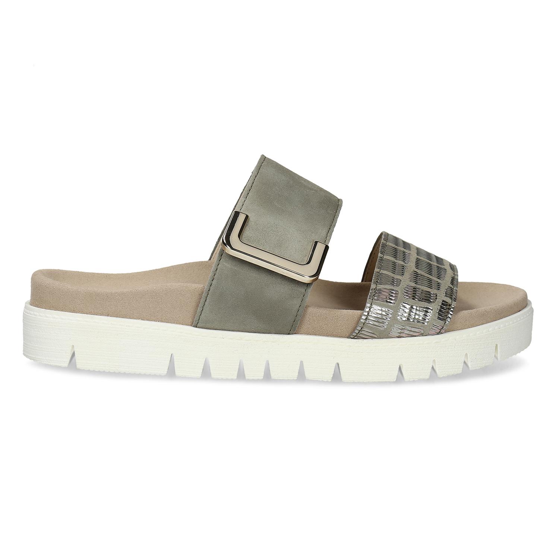 00728fc1608e Gabor Dámske kožené nazuváky s masívnou podrážkou - Všetky topánky ...