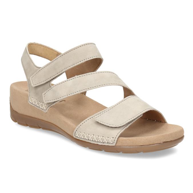 e1ded2f39706 Gabor Béžové dámske sandále z brúsenej kože - Všetky topánky