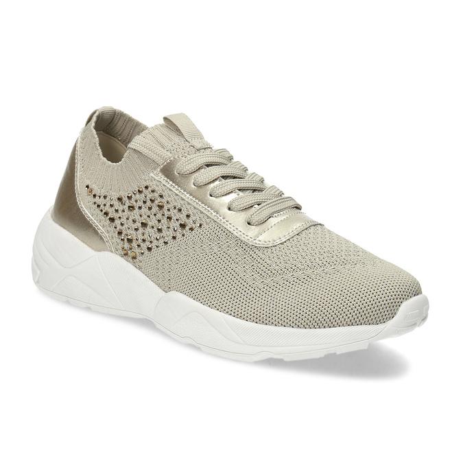 c8c0c838f Bata light Zlaté dámske tenisky s kamienkami - Všetky topánky | Baťa.sk