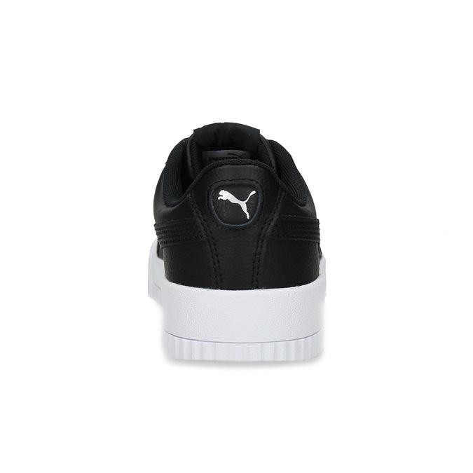 Čierne tenisky na flatforme puma, čierna, 501-6188 - 15