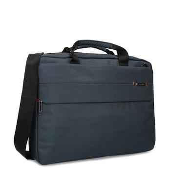 Modrá taška na pracovné cesty samsonite, modrá, 960-9068 - 13