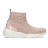 Dámske členkové tenisky ružové bata-light, ružová, 599-5628 - 19