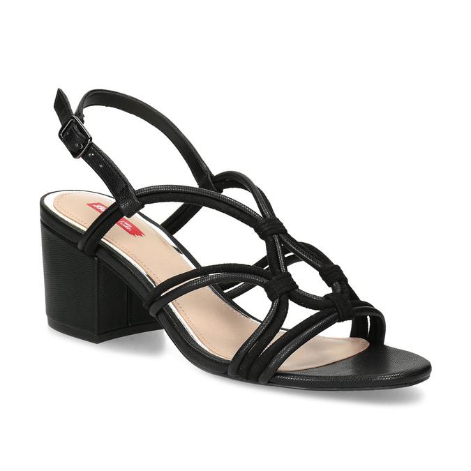 beadab55bf98 Bata Red Label Čierne šnurované sandále - Na podpätku