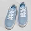 Svetlomodré kožené tenisky nike, modrá, 503-9102 - 16