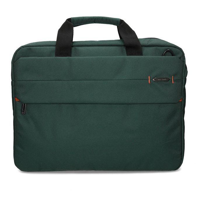 Zelená cestovná taška s popruhom samsonite, zelená, 960-7068 - 26
