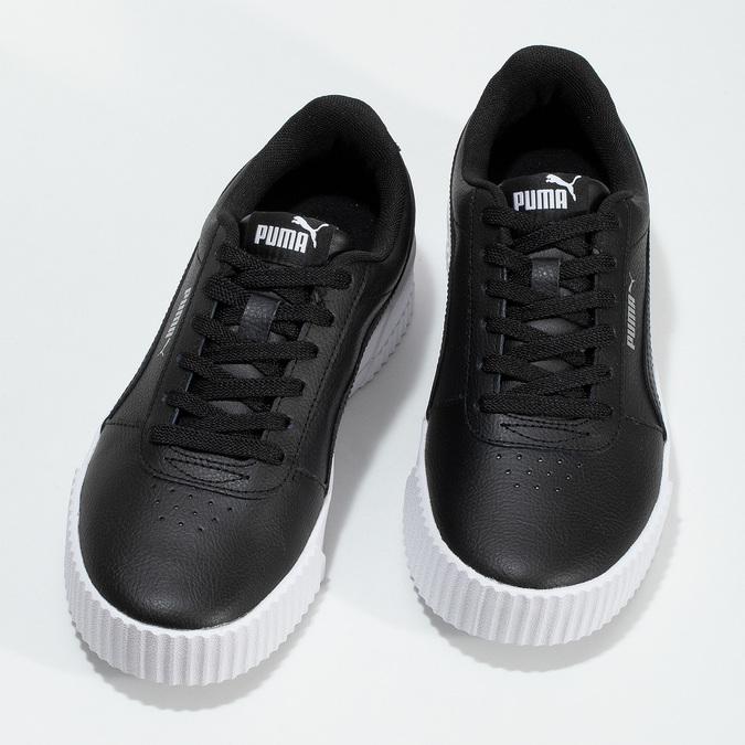 Čierne tenisky na flatforme puma, čierna, 501-6188 - 16