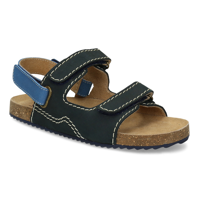 1e4678c709 Mini B Tmavomodré chlapčenské sandále - Sandále