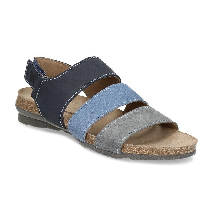 4f4437b087 Weinbrenner Dámske kožené modré sandále - Ženy