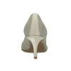 Dámske lodičky v pletenom dizajne bata-b-flex, šedá, 729-2641 - 15