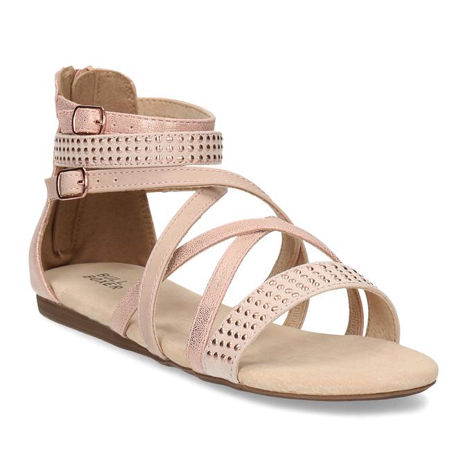 b697fa7a43fa Bullboxer Dievčenské kožené sandále - Sandále