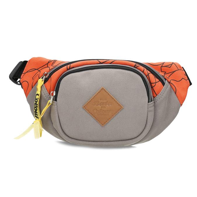 Šedá ľadvinka s oranžovým detailom bata-colours-of-ostrava, oranžová, 969-2706 - 26