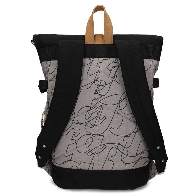 Šedý unisex batoh so vzorom bata-colours-of-ostrava, šedá, 969-2705 - 16