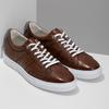 Kožené hnedé tenisky pánske bata, hnedá, 846-3649 - 26