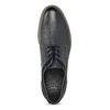 Pánske kožené ležérne poltopánky bata, modrá, 826-9610 - 17