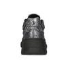 Strieborné dámske tenisky v Chunky štýle bata-light, strieborná, 641-4601 - 15