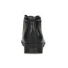 Členková čierna kožená dámska obuv comfit, čierna, 594-6707 - 15
