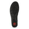 Členková čierna kožená dámska obuv comfit, čierna, 594-6707 - 18