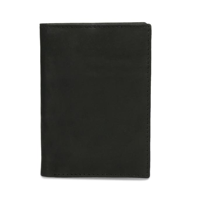 Kožené púzdro na karty bata, čierna, 944-6158 - 16