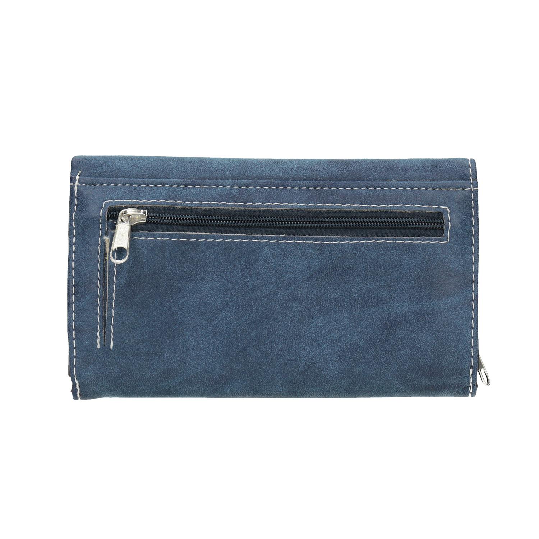 57d589fda ... Dámska modrá peňaženka bata, modrá, 941-9153 - 19