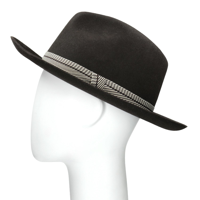 690a4bdf6 ... Tmavo hnedý pánsky klobúk tonak, hnedá, 909-4654 - 26 ...