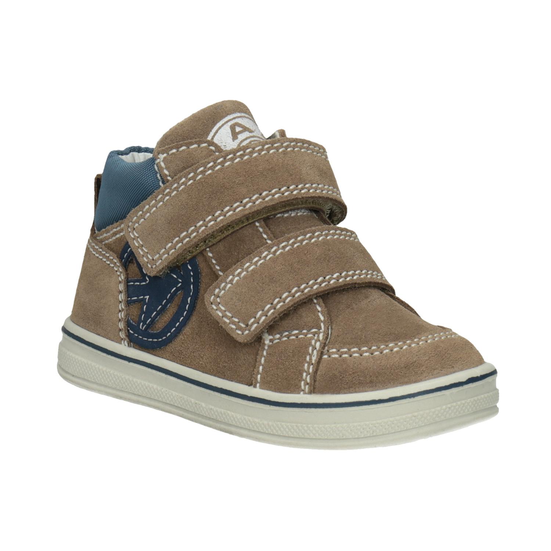 Bubblegummers Detská členková kožená obuv - Zľavy  05d35439175