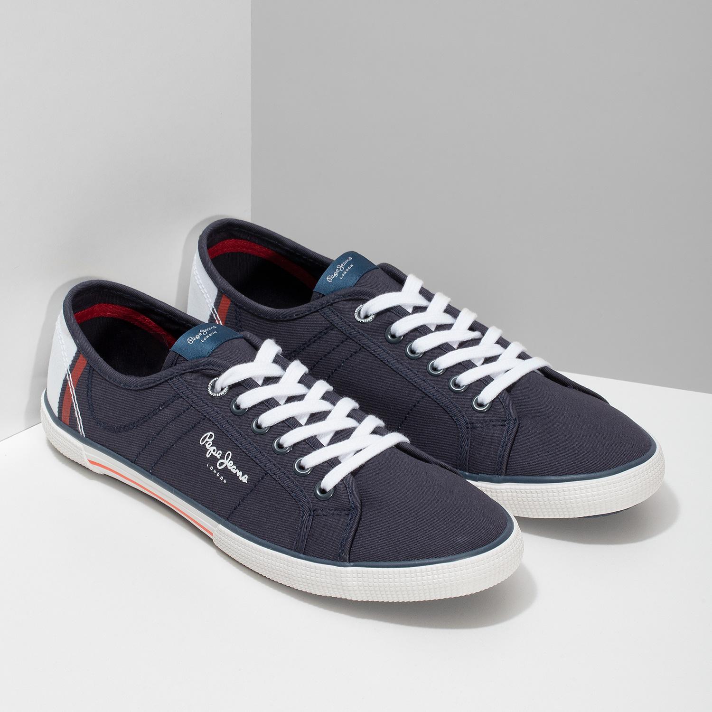 47dababc5 ... Tmavomodré pánske tenisky pepe-jeans, modrá, 849-9106 - 26 ...